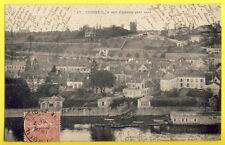 CPA France 91 - CORBEIL ESSONNE à VOL d'OISEAU (4eme Vue) Bains Chaud