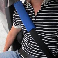 1X Black Cushion Cover Car Safety Seat Belt Harness Shoulder BackPack Pad,';