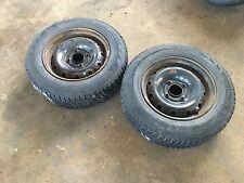 2x Peugeot 106 Felge 5x13 ET20 LK 4x108  + Reifen Winterreifen 165 70 13 4-5mm