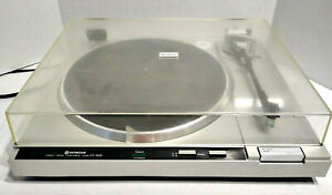 Hitachi Model HT-50S Direct Drive Turntable Tested