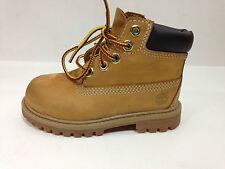 Timberland Youth Boots Wheat Nubuck Youth Size 8 USA.