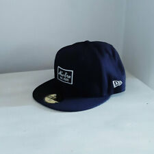 New Era 59FIFTY Navy Fitted Baseball Cap - size 7 1/4