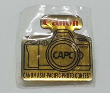 Rare Canon EOS Camera Asia-Pacific Photo Contest Mini Pin Badge Souvenir (B423)