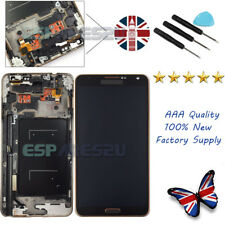Samsung Galaxy Note 3 N9005 LTE Touch Screen LCD Display Digitizer + Frame Black