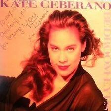 KATE CEBERANO 45RPM PICTURE SLEEVE BEDROOM EYES WATCH VIDEO