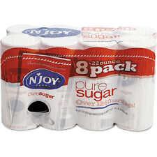 N'Joy Pure Sugar Cane 22 oz Canisters 8 per Carton