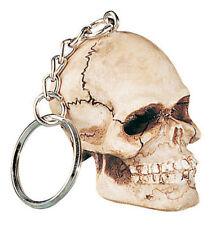 Unique Skull Head Key Chain.Skeleton Motor Car Keychain.So Cool
