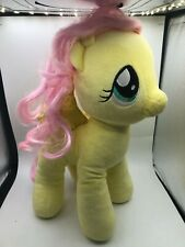 Build A Bear BAB My Little Pony Yellow MLP Fluttershy Plush Soft Stuffed Toy