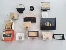 Lot Of Vintage Panel Electrical Meters