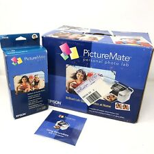 Epson PictureMate Personal Photo Lab Printer + Additional Photo Paper