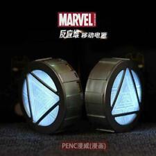 Marvel Iron Man Reactor Atmungs LED Leuchten Tragbares Power Bank 12000mAh Model