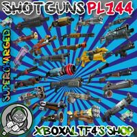 Shotgun PL144 Supercharged -Choose from List-  | Fortnite STW XBOX/PS4/PC