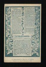 Single World War I (1914-18) Collectable Italian Postcards