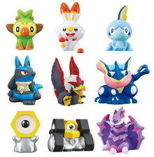 Bandai Pokemon Kids New Pokemon ver. Finger Pupper Figure Set of 9 Sword Shield