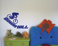 Wandtattoo Downhill Mountain Bike Wandaufkleber XXXL  25 Farben 10 Größen