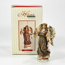 """Roman Inc Heaven Blessed Angel Collection Guidance 4.5"""" Ornament 1 of 4 Mib Rare"""