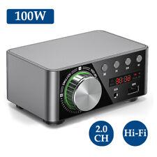 HIFI BT5.0 Amplificatore digitale Mini Amplificatore audio stereo 100 W Dop M1L9