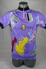 "XXL 41"" Levior Women's Race Fit Purple Cycling Jersey Short Sleeve Shirt (301)"
