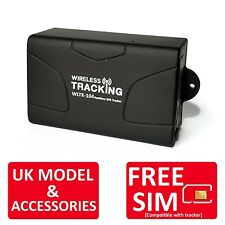 Genuine TK104 Tracker Car Vehicle Boat Van Hidden Covert GPS Tracker