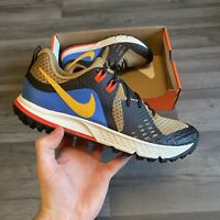 NIKE AIR ZOOM WILDHORSE 5 MULTI COLOUR RUNNING TRAINERS SHOE SIZE UK7 US8 EUR41