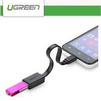 UGREEN USB 2.0 A Female to Micro B Male Converter OTG Adapter Cable for Mobile