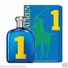 Polo Big Pony Collection # 1 Blue Men Ralph Lauren EDT 4.2 oz Sealed.
