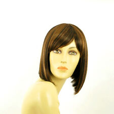 short wig for women chocolate copper wick clear ref: brenda 627c