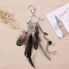 Dream Catcher Feather Handbag Charm Pendant Key Chain Keychain Bag Keyring Gift