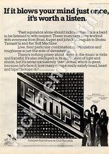 Isotope First Album GULP 1002 MM4 LP Advert 1974