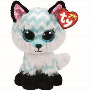 Ty Beanie Boos 36368 Atlas the Aqua Fox Boo Regular