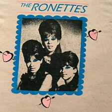 New listing The Ronettes T-Shirt Men's Medium 60s Girl Groups Screen Stars Motown Vintage