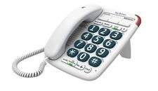BT Big Button 200 Corded Telephone With speakerphone White