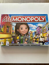 Monopoly Ms. Monopoly Board Game Family/Kids Ages 8+ New Sealed Free Shipping