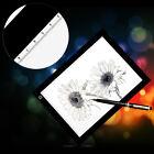 1 Set A4 LED LightBox Pattern Tracing Pad Art Design Stencil Drawing Board