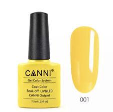 CANNI Gel Polish Color 001-258 Paint Long Lasting Soakoff High Quality Salon Gel