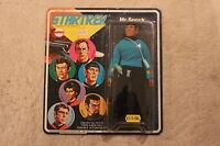 mego star trek mr spock 1974 mint carded original vintage