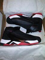 Air Jordan Jumpman Swift Black Red White Bred Retro Shoes AT2555-001 Size 10.5
