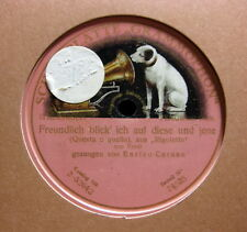 """Enrico Caruso - Questa o quella  """"Rigoletto"""" (Verdi) GRAMMOPHON (1076)"""