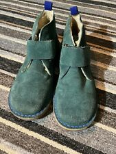 Mini Boden, boys teal sued desert boot, size 4 EU 37, very good condition.