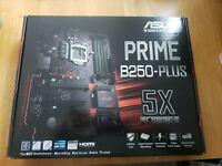 Asus Prime B250-plus, LGA 1151, motherboard for 6/7 gen Intel, brand new