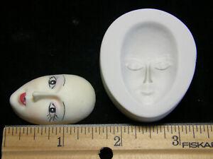 Goddess Face Polymer Clay Mold (MD1092)