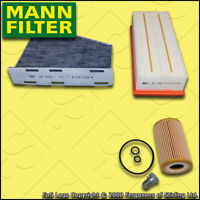 SERVICE KIT for VW GOLF MK6 1.6 TDI MANN OIL AIR CABIN FILTERS (2009-2016)