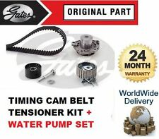 FOR VAUXHALL ASTRA 1.9 2004-> TIMING CAM TENSIONER BELT KIT + WATER PUMP SET