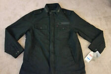 Men's Levi's Military Jacket Quilt Lined Black Coat Size XL Tall NEW!!!