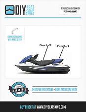 KAWASAKI STX 12F 15F BLACK BLUE Seat Skin Cover 05 06 + FREE EMAILED PDF MANUAL~