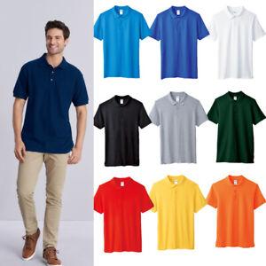 Men's Ultra Cotton Plque Sport Shirt Jersey T-Shirt