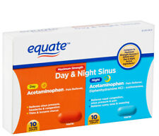Equate Compare to Dayquil and Nyquil Cough, Cold and Flu Relief 20 COUNT UK