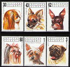 Bulgaria 1991 Sc3635-40 Mi3929-34  6v  mnh  Dogs