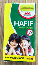 50ml HAFIF Anti-Lice Hair Shampoo For PEDICULOSIS CAPITIS Treatment Kids + Adult