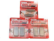 2001 955i SPRINT RS TRIUMPH FRONT /& REAR BRAKE PADS 3xSets GOLDFREN SINTERED